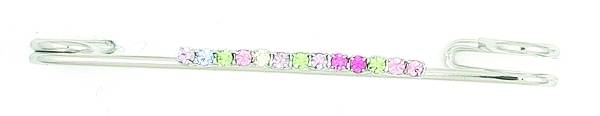 Finishing Touch Pastel Rhinestone Stock Pin