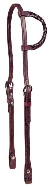 TORY LEATHER Braided One Ear Headstall