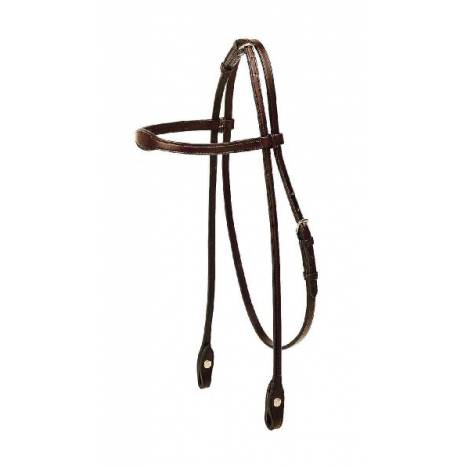 TORY LEATHER English Bridle Leather Flared Arabian Browband Headstall