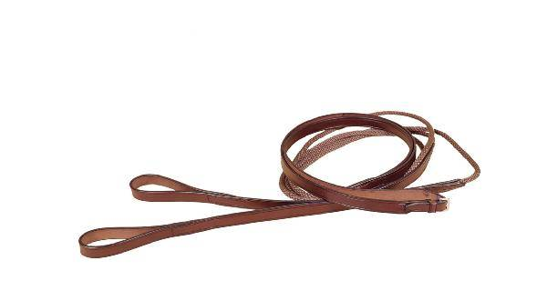 TORY LEATHER Polo Style Draw Reins