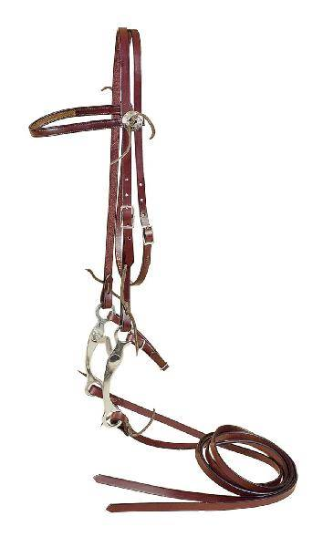 TORY LEATHER Full Bridle - Curb Bit