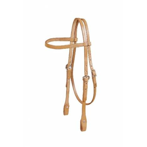 TORY LEATHER Single Ply Browband Headstall