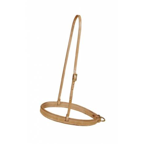 TORY LEATHER Roper Noseband - Brass Halter Bolts