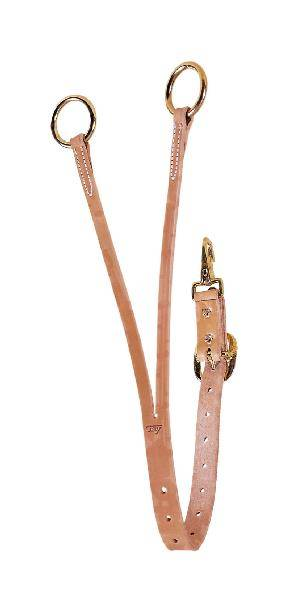TORY LEATHER Training Fork - Brass Tongue Buckle