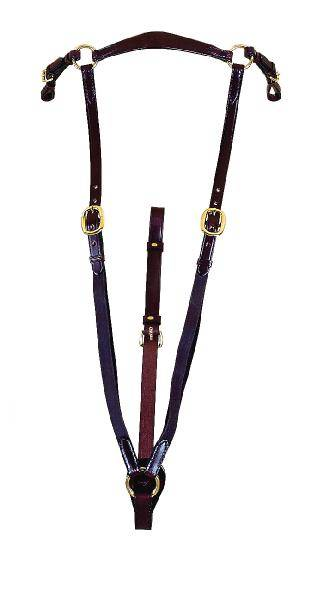 TORY LEATHER 3/4'' Bridle Leather Heavy Duty Hunt Breastplate