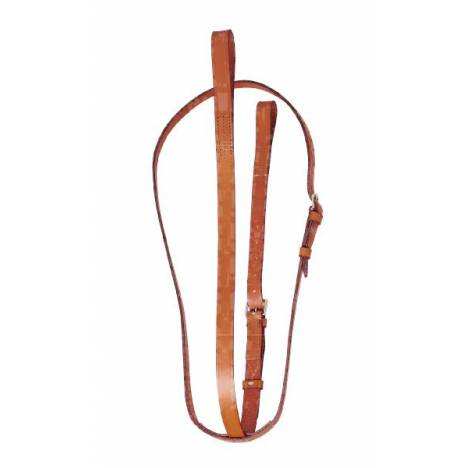 TORY LEATHER Bridle Leather 1'' Standing Martingale