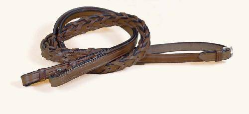Tory Leather Bridle Leather Laced Pony Reins