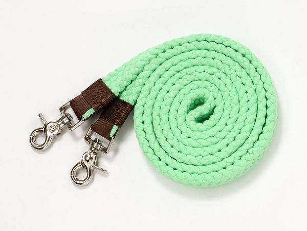 Tough-1 Flat Cotton Roping Reins