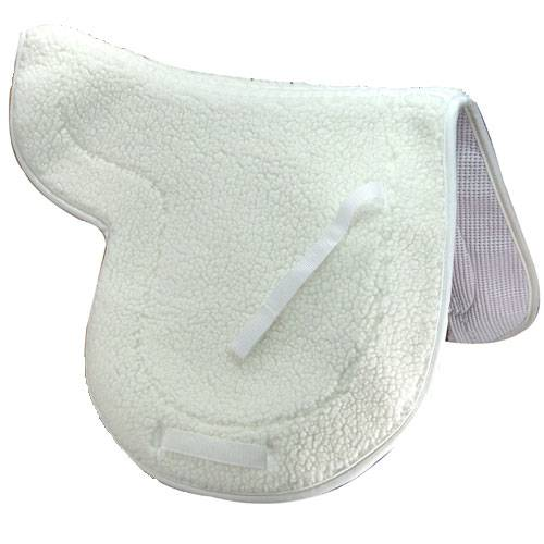 English Fleece Saddle Pad-Close Contact