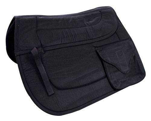 Cushioned Pocket AP Trail Saddle Pad Brown