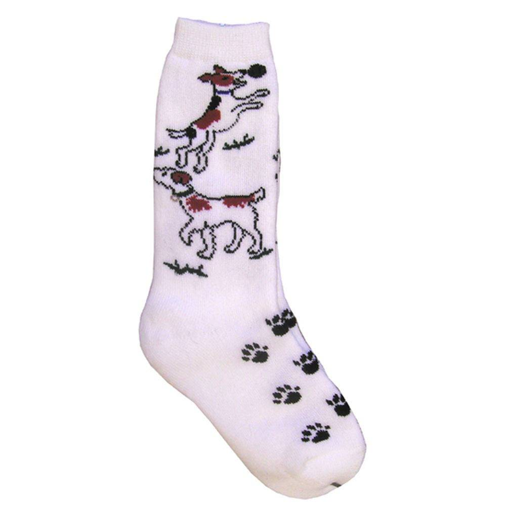 Kids Jack Russel Pattern Sock
