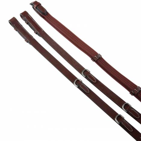 Kincade Web Reins With Grips And Dees