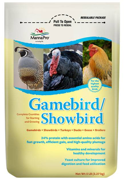 Manna Pro Gamebird/Showbird Food