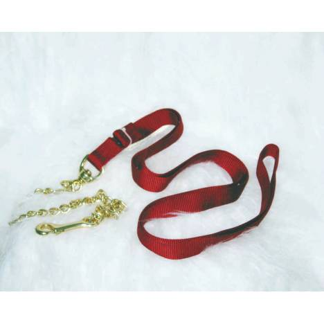 Nylon Lead With Chain For Horses