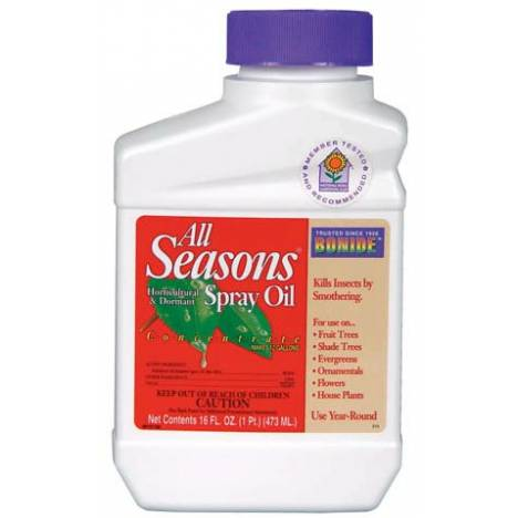 All Season Hort Oil Concentrate Insect Control
