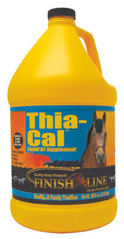 Thia-Cal Liquid B1 Supplement For Horses