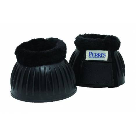 Perri's Double hook & loop fastener Fleece Bell Boots