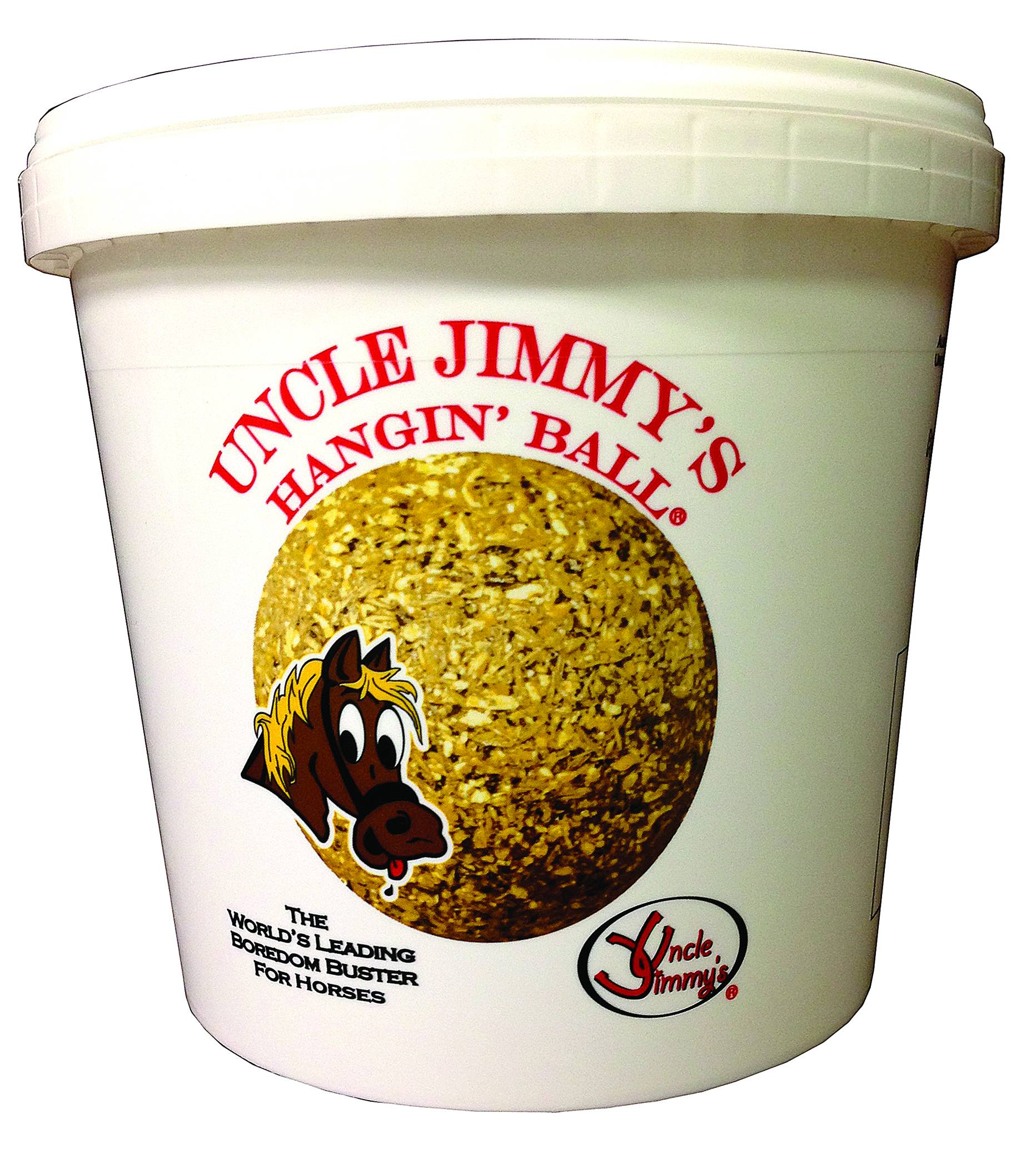 Uncle Jimmy's Hanging Balls - Sugar Free Horse Treat