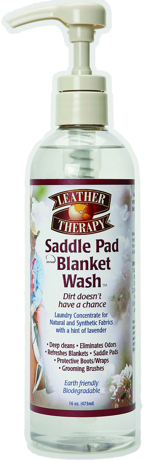 Leather Therapy Saddle Pad and Blanket Wash