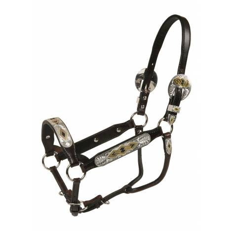Tory Leather Casas Grandes Congress Style Show Halter & Lead