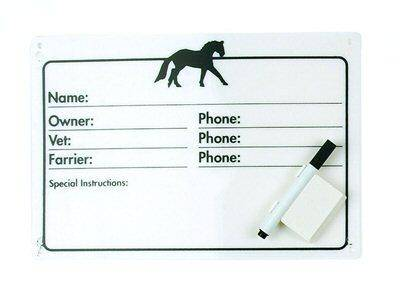 Dry Erase Pen for Horse Stall