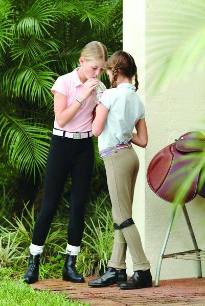 Equi-star Kids Classic Knee Patch Breech