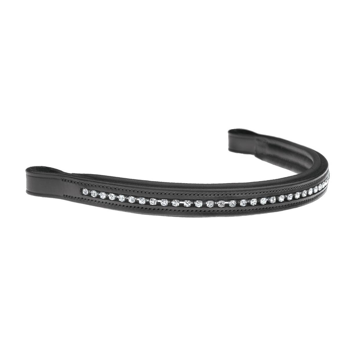 Ovation Bling Silver Chain Browband