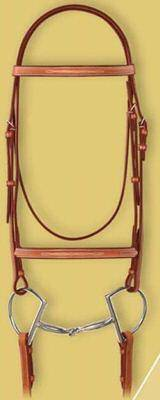 Ovation Fancy Raised Bridle with laced reins