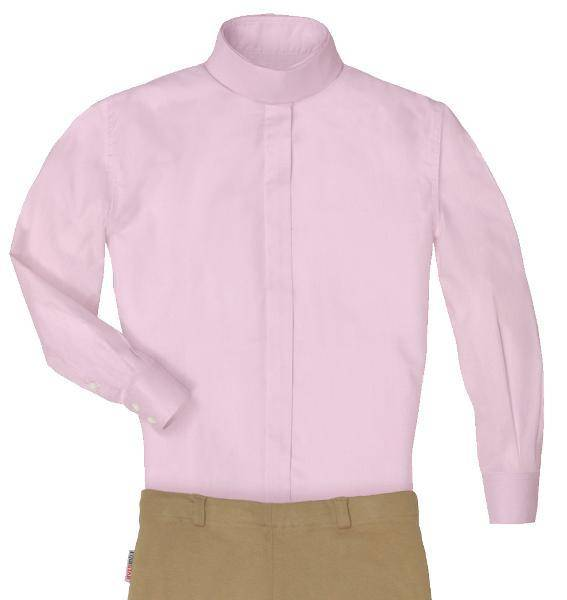 Equi-star EZE Care Ladies Long sleeve cotton show shirt.
