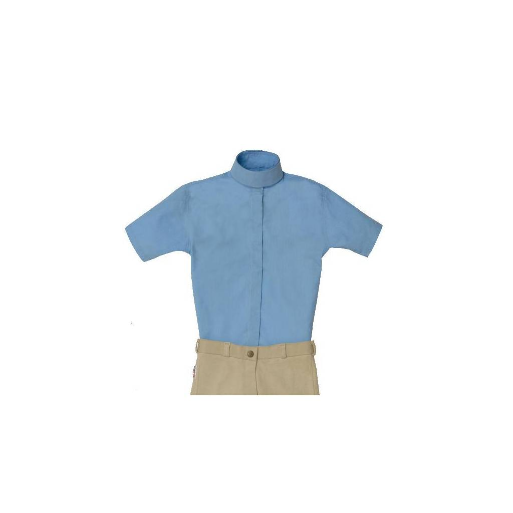 Equi-star EZE Care Ladies Short sleeve cotton show shirt.