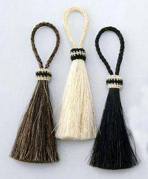 Royal King Single Horsehair Tassel