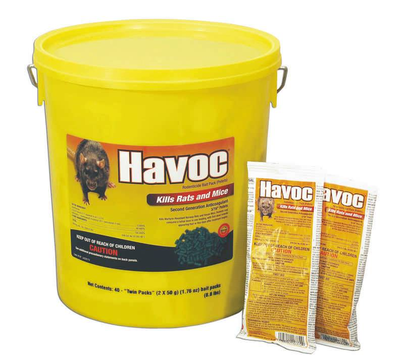 Havoc Twin Packs Pail rodenticide