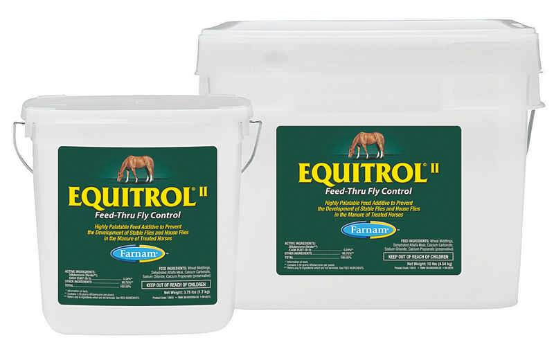 Equi-Trol Feed Thru Fly Control