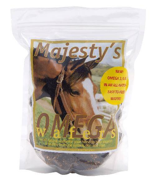 Majesty's Equine Omega Wafers