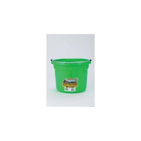 Flat Back Plastic Bucket P8Fb
