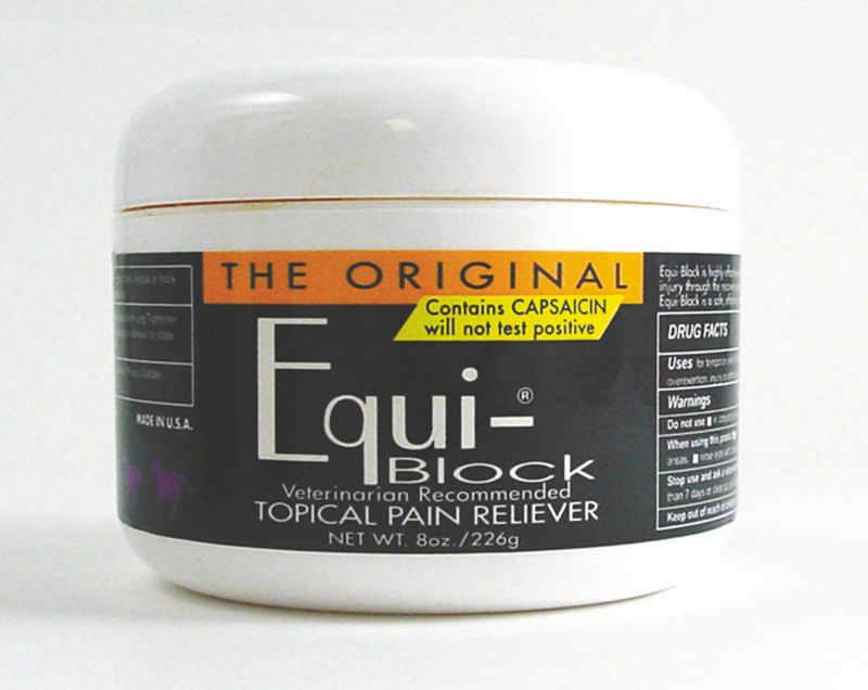 Equi-Block equine Topical Pain Reliever