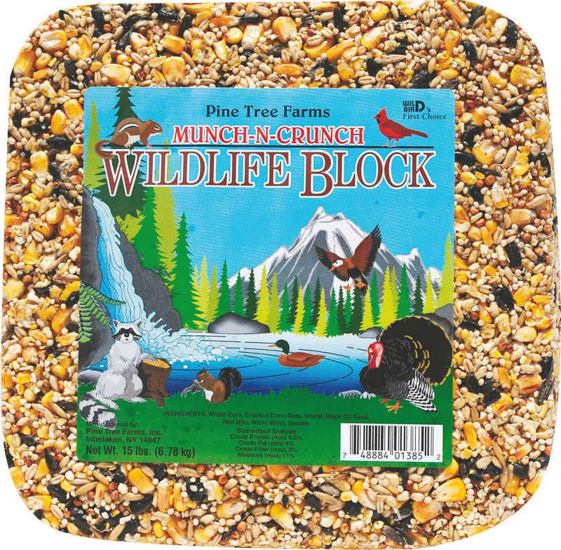 Munch-N-Crunch Wildlife Block