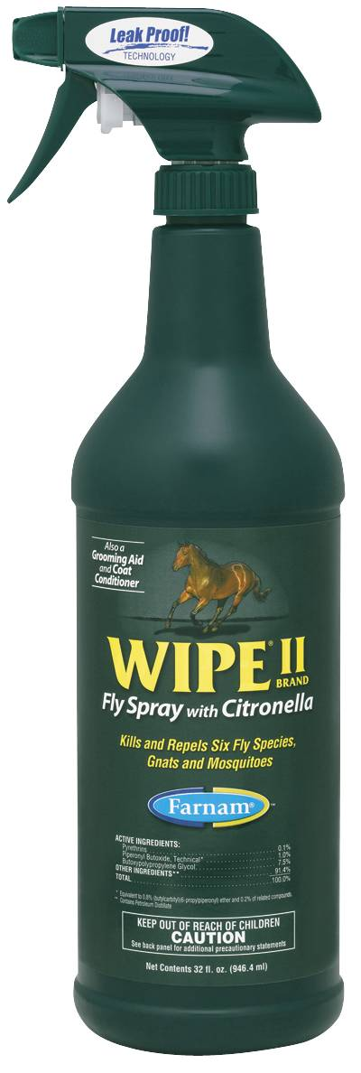 Wipe II with Citronella with Spayer