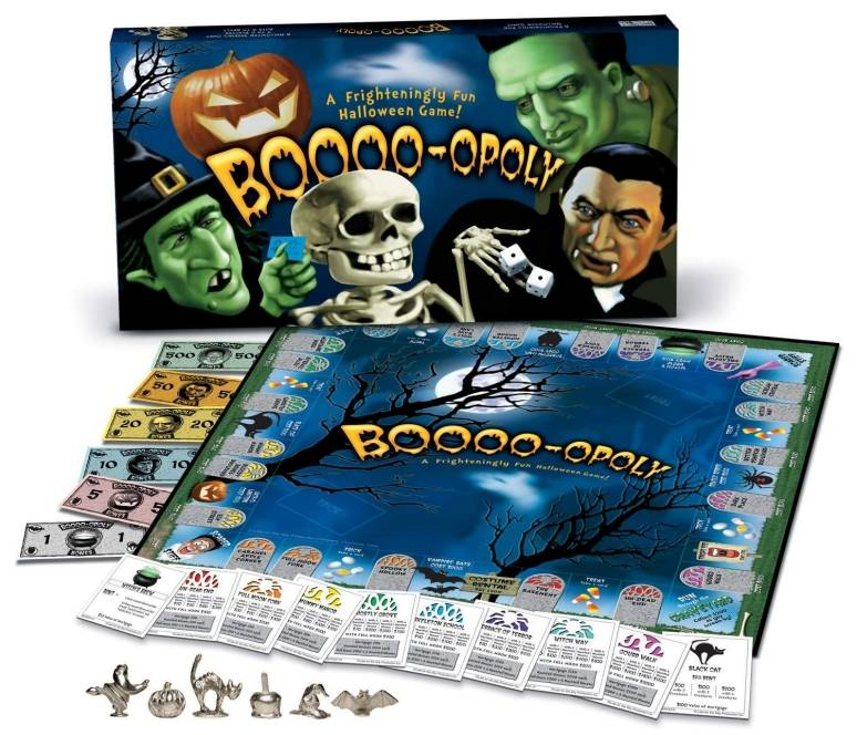 BOOOO-OPOLY: The Board Game - Its Creepy!