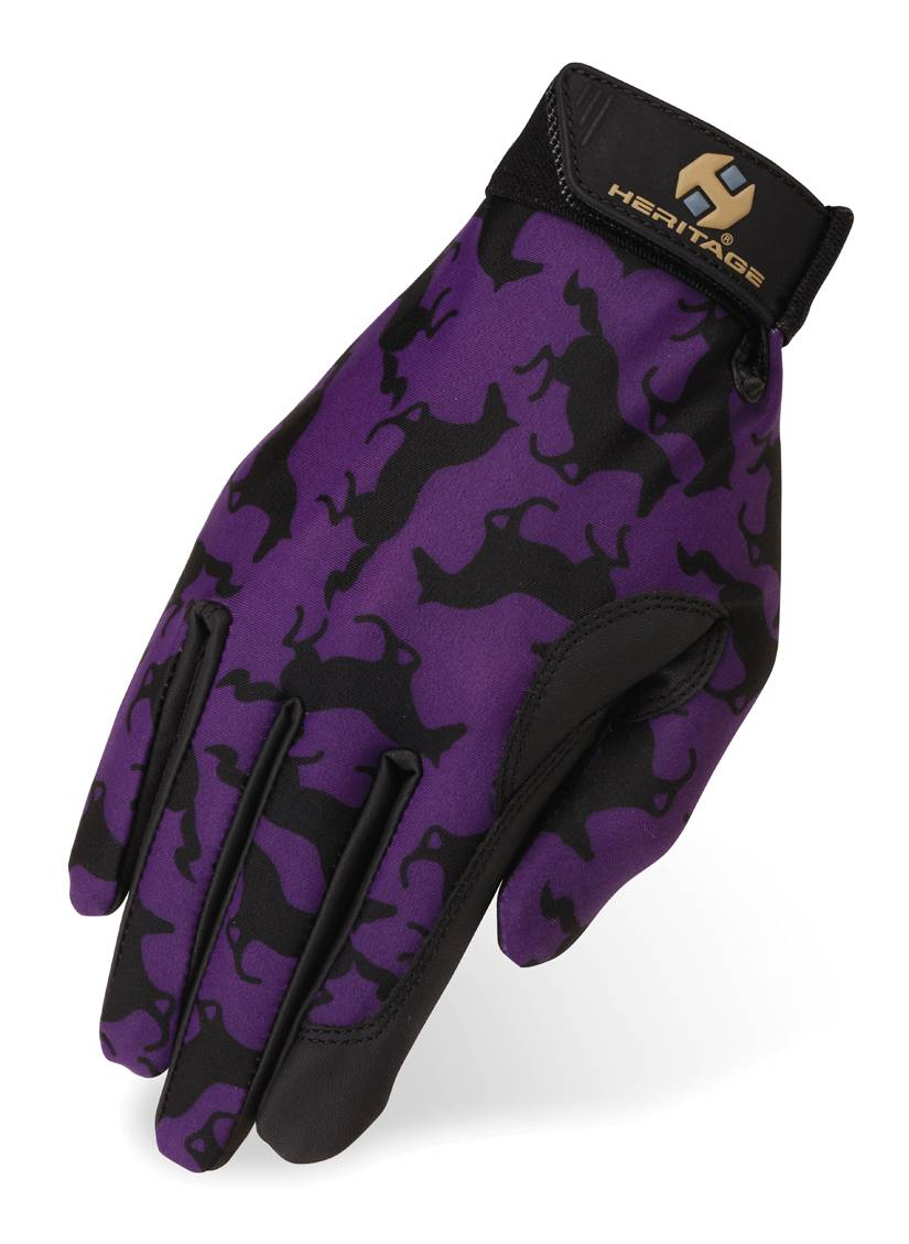 Heritage Performance Gloves Prints - Gallop