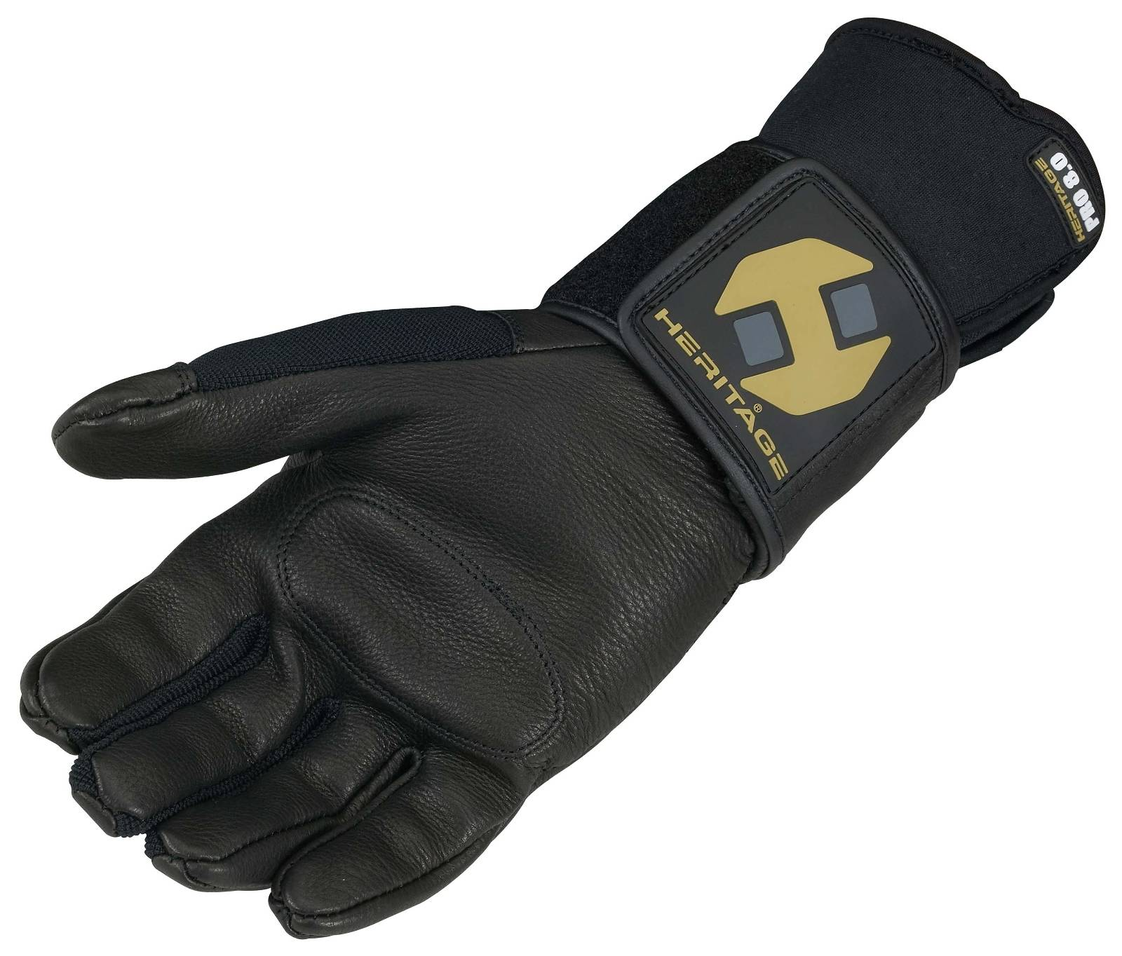 Heritage Jr. Pro 8.0 Bull Riding Glove (Right Hand Only)