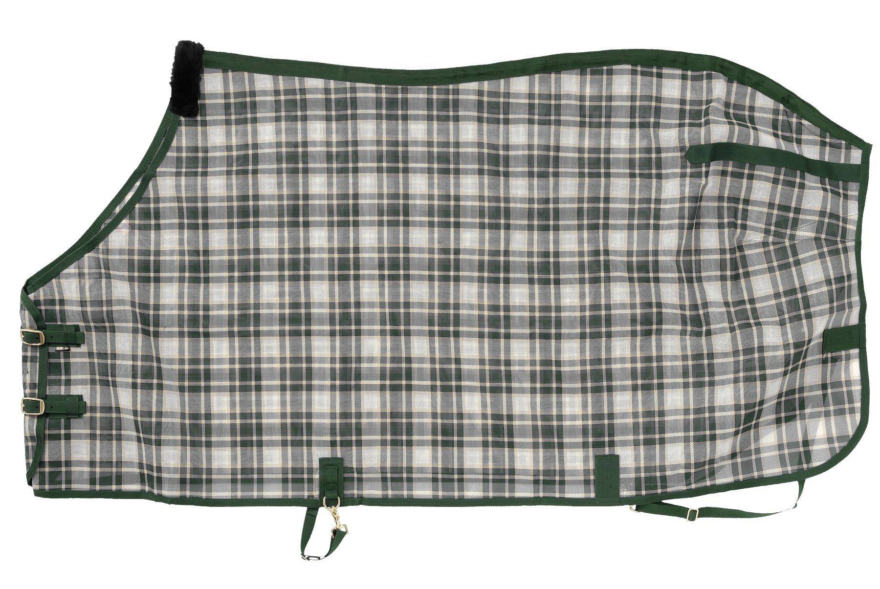 Tough-1 Deluxe Plaid Mesh Fly Sheet