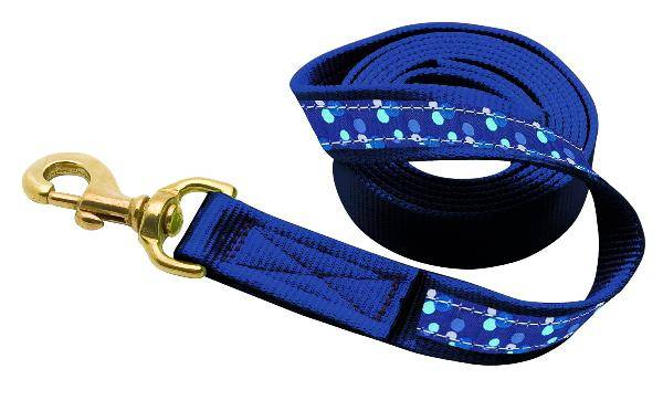 Perri's Leather Ribbon Lead with Snap