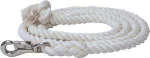 Abetta Natural Cotton Lead with Bull Snap