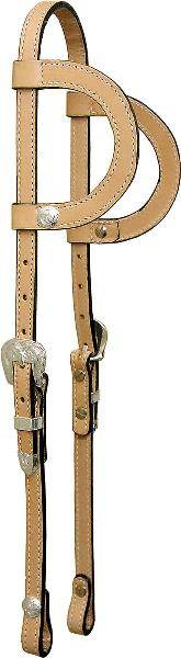 Tex Tan Double Slide Ear Headstall with Conchos