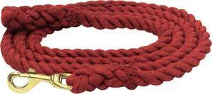 Abetta Cotton Lead with Brass Snap
