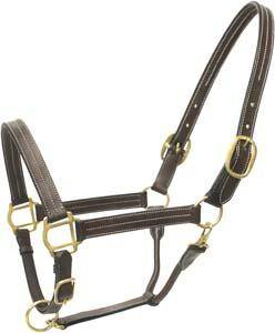 Abetta Leather Show Halter