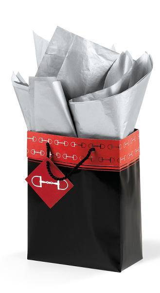 Polished Bits Cub Gift Bag - Black/Red