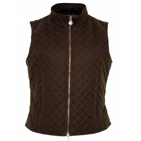 Outback Ladies Oilskin Quilted Vest