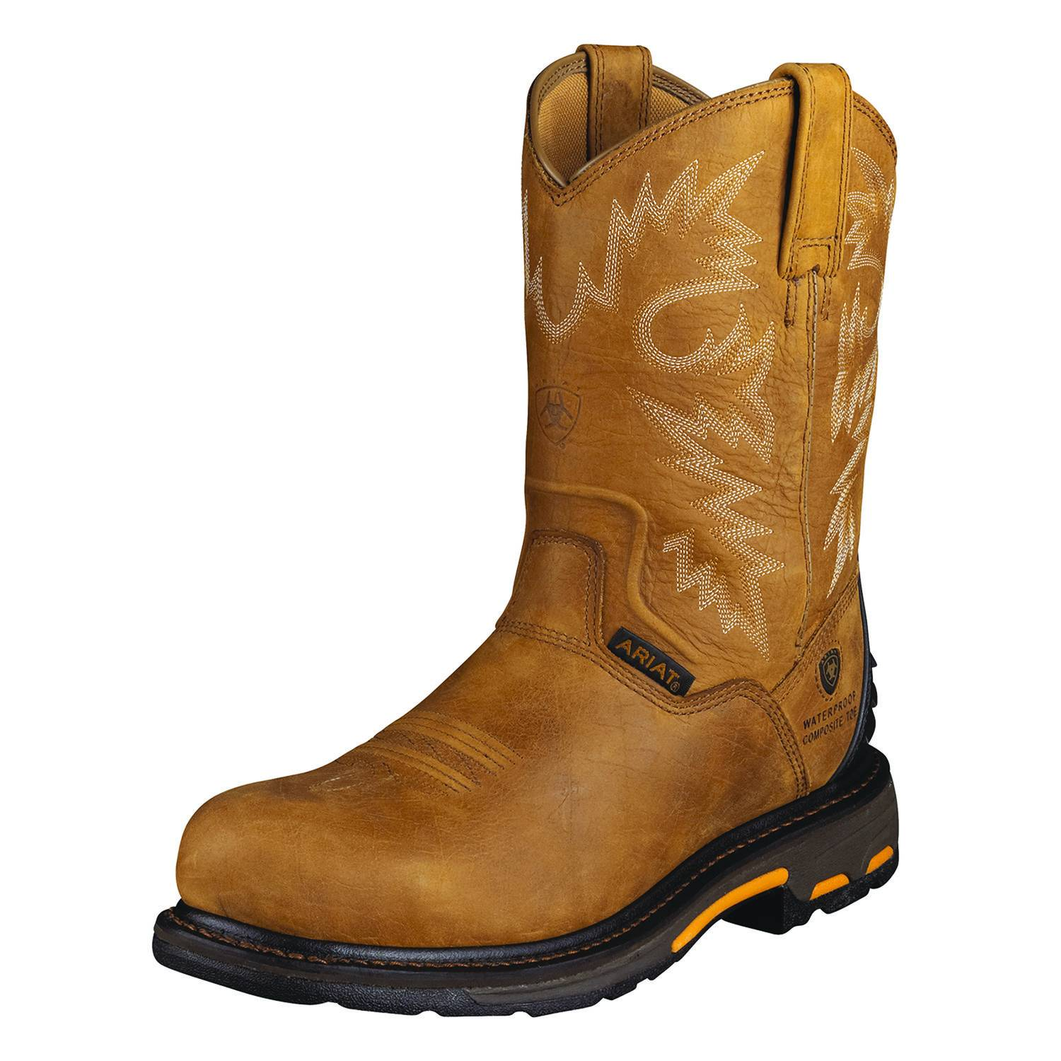 Ariat Men's Workhog RT Pull-On H2O CT Boot